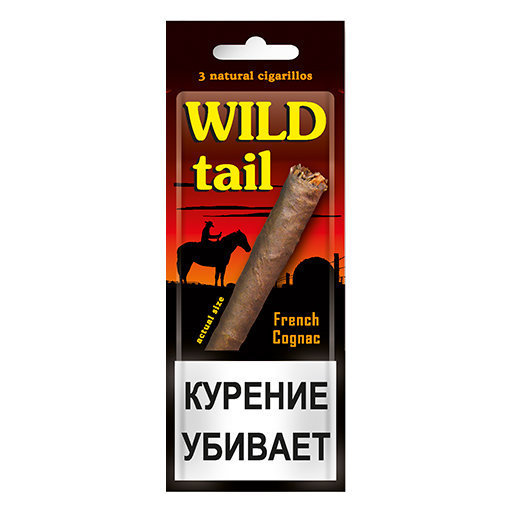 Wild Tail - French Cognac в упаковке